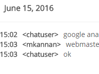 [Image: Chat history]