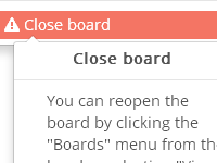 [Image: Close Board Action Freezes Icon]