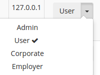 [Image: Users role not able to change in admin side]